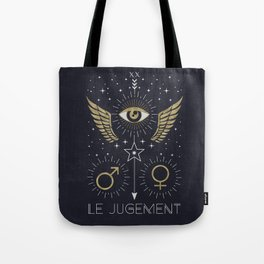 Le Jugement or The Judgement Tarot Tote Bag