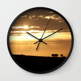 Somewhere, Sometime Wall Clock