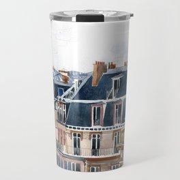 Roofs of Paris Travel Mug