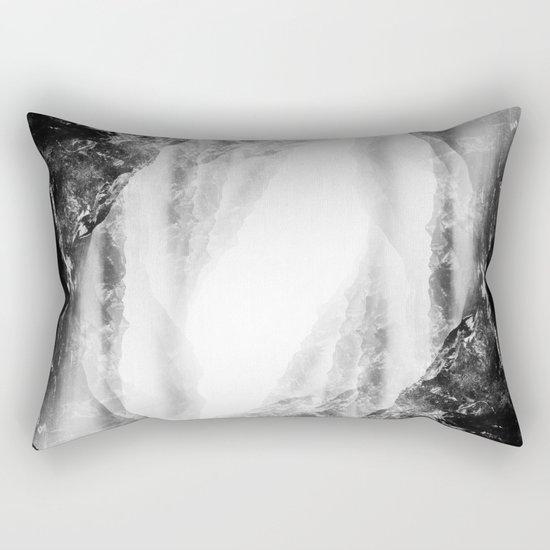Black Flip Rectangular Pillow