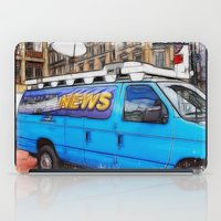 the hound iPad Cases featuring News Hound by Paul & Fe Photography