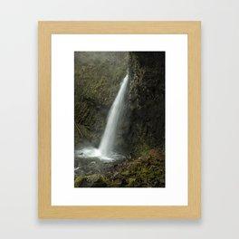 Upper Latourell Falls, No. 2 Framed Art Print