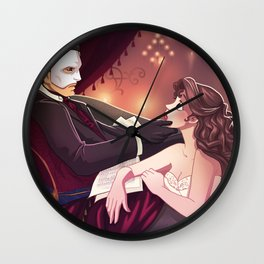 The Phantom of the Opera Wall Clock