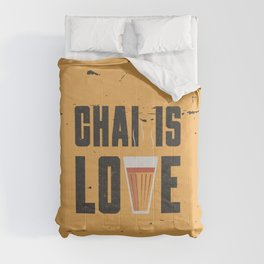 Chai Is Love Comforters