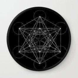 Sacred Geometry Print 4 Wall Clock