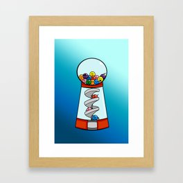 Gumball Machine of Emotions Framed Art Print