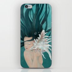 I hear the blue sea iPhone & iPod Skin