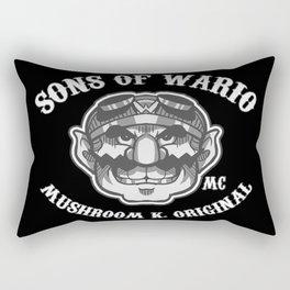 Sons Of Wario. Rectangular Pillow