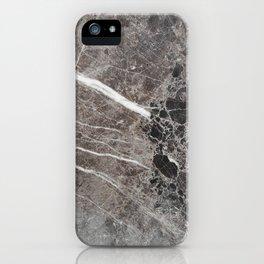 Dark Mural Marble iPhone Case