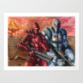 The Doomsday Squad Art Print
