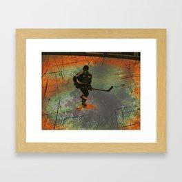 The Game Changer - Ice Hockey Tournament Framed Art Print