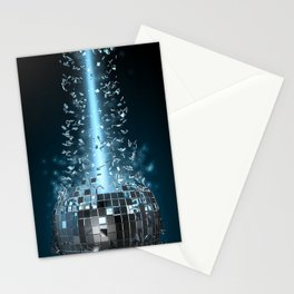 Disco explosion Stationery Cards