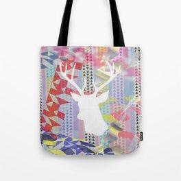 Deer'n pop Tote Bag