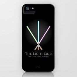 The Light Side iPhone Case