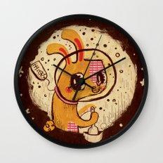 Jade Rabbit Wall Clock