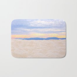 Beach Sunset Bath Mat