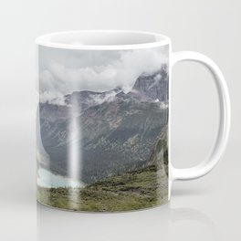 Three Lakes Viewed from Grinnell Glacier Coffee Mug
