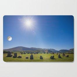 Castlerigg Stone Circle in English Lake District Cutting Board