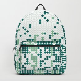 Tiny circles gradient Backpack
