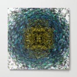 Geode Abstract 01 Metal Print