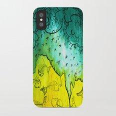 f i s h b o n e i n t e r r a i n iPhone X Slim Case
