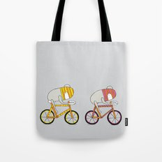 Ride more bikes Tote Bag