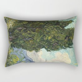 Cypresses by Vincent van Gogh Rectangular Pillow