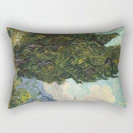 Cypresses by Vincent van Gogh Rectangular Pillow