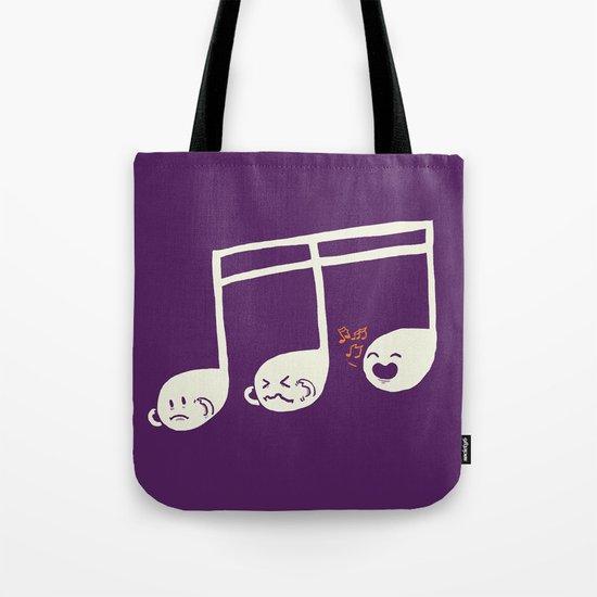 Sounds O.K. (off key) Tote Bag