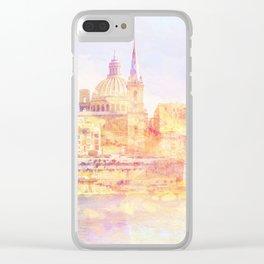 Valletta, Malta Clear iPhone Case