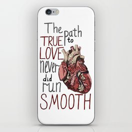 Path to true love iPhone Skin