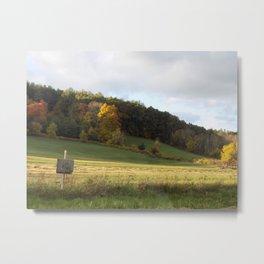 Autumn Hills Metal Print