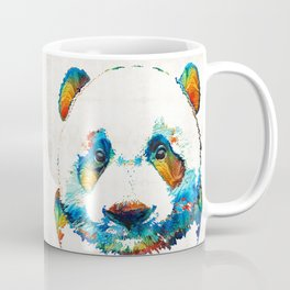 Colorful Panda Bear Art By Sharon Cummings Coffee Mug