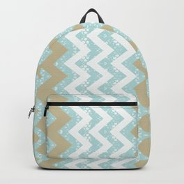 Chevrons and Dots Backpack