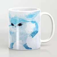 ice Mugs featuring Ice by Melissa Smith