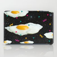 funky iPad Cases featuring Funky Egg Galaxy by Danny Ivan