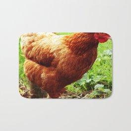 Chicken Life Bath Mat