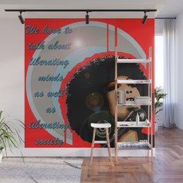 Icons-Angela Davis Wall Mural
