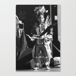 Ready for the stage Canvas Print