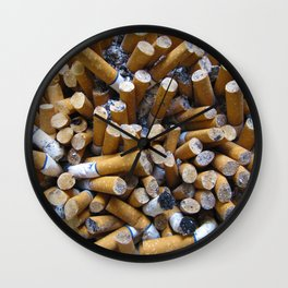 Ashes to Ashes Wall Clock