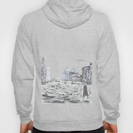 Venice City on the Water . Home Decor, Graphic Design Hoody