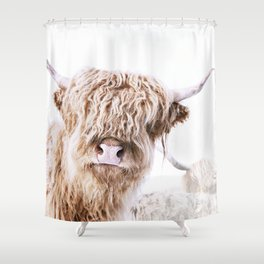 HIGHLAND CATTLE LULU Shower Curtain