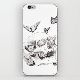 Anxiety Print iPhone Skin
