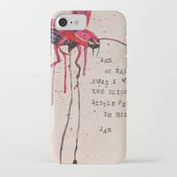 firefly iPhone & iPod Cases featuring FIREFLY by MEERA LEE PATEL