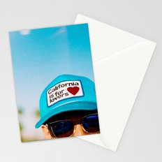 California is for Lovers Stationery Cards