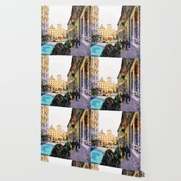 Catanzaro: course with cathedral Wallpaper