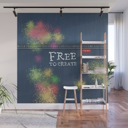 Denim Jeans - Free To Create Wall Mural