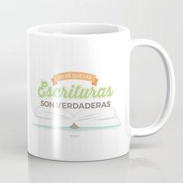 Yo sé que las escrituras son verdaderas {Primaria 2016} Coffee Mug