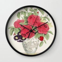 The Boquet by N Currier Wall Clock