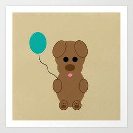 Puppy Party Art Print